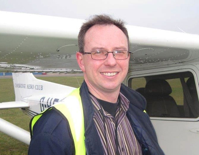 Ricky Dolphin - Examiner & Freelance Flying Instructor